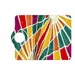 Multicolored Vibrations Kindle Fire Hd 7  (2nd Gen) Flip 360 Case by dflcprints