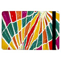 Multicolored Vibrations Apple Ipad Air Flip Case by dflcprints