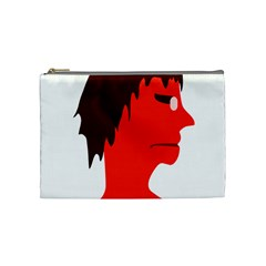 Monster With Men Head Illustration Cosmetic Bag (medium) by dflcprints