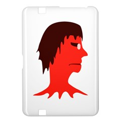 Monster With Men Head Illustration Kindle Fire Hd 8 9  Hardshell Case by dflcprints