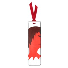 Monster With Men Head Illustration Small Bookmark by dflcprints