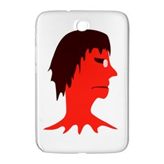 Monster With Men Head Illustration Samsung Galaxy Note 8 0 N5100 Hardshell Case  by dflcprints