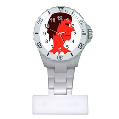 Monster With Men Head Illustration Nurses Watch by dflcprints