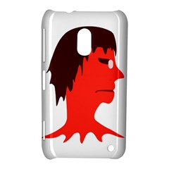 Monster With Men Head Illustration Nokia Lumia 620 Hardshell Case by dflcprints