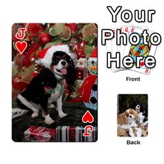 Jack Big Cards By Adele Savoie   Playing Cards 54 Designs   Xzh45ep9v7dm   Www Artscow Com Front - HeartJ