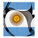 Argentina Shower Curtain 66  x 72  (Large)