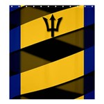 Barbados Shower Curtain 66  x 72  (Large)