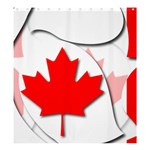 Canada Shower Curtain 66  x 72  (Large)