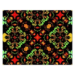 Intense Floral Refined Art Print Jigsaw Puzzle (rectangle) by dflcprints