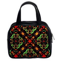 Intense Floral Refined Art Print Classic Handbag (two Sides) by dflcprints