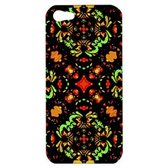 Intense Floral Refined Art Print Apple Iphone 5 Hardshell Case by dflcprints
