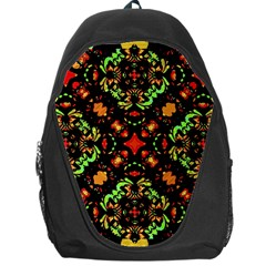 Intense Floral Refined Art Print Backpack Bag by dflcprints