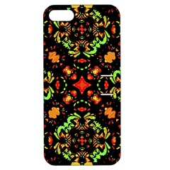 Intense Floral Refined Art Print Apple Iphone 5 Hardshell Case With Stand by dflcprints
