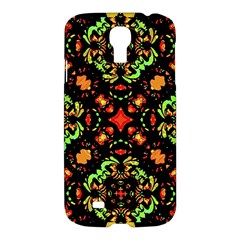 Intense Floral Refined Art Print Samsung Galaxy S4 I9500/i9505 Hardshell Case by dflcprints
