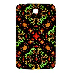 Intense Floral Refined Art Print Samsung Galaxy Tab 3 (7 ) P3200 Hardshell Case  by dflcprints