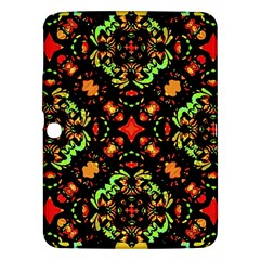 Intense Floral Refined Art Print Samsung Galaxy Tab 3 (10 1 ) P5200 Hardshell Case  by dflcprints