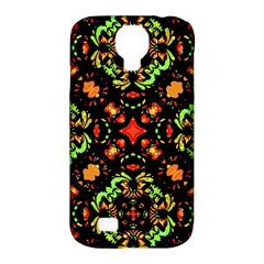 Intense Floral Refined Art Print Samsung Galaxy S4 Classic Hardshell Case (pc+silicone) by dflcprints