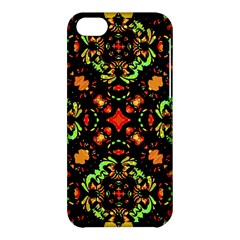 Intense Floral Refined Art Print Apple Iphone 5c Hardshell Case by dflcprints