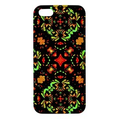 Intense Floral Refined Art Print Iphone 5s Premium Hardshell Case by dflcprints