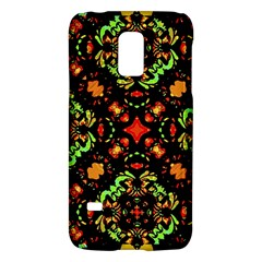 Intense Floral Refined Art Print Samsung Galaxy S5 Mini Hardshell Case  by dflcprints