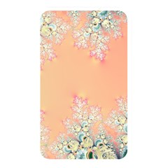 Peach Spring Frost On Flowers Fractal Memory Card Reader (rectangular) by Artist4God