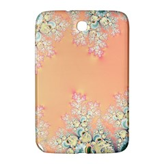 Peach Spring Frost On Flowers Fractal Samsung Galaxy Note 8 0 N5100 Hardshell Case  by Artist4God