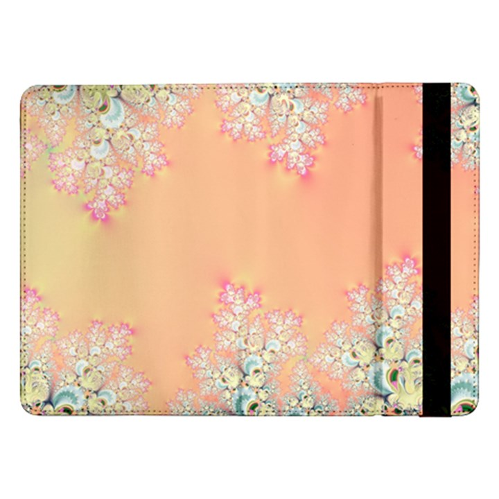 Peach Spring Frost On Flowers Fractal Samsung Galaxy Tab Pro 12.2  Flip Case
