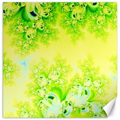 Sunny Spring Frost Fractal Canvas 20  X 20  (unframed) by Artist4God