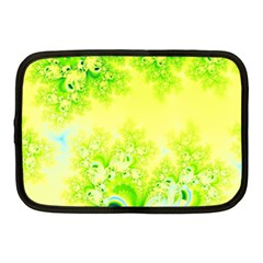 Sunny Spring Frost Fractal Netbook Sleeve (medium) by Artist4God