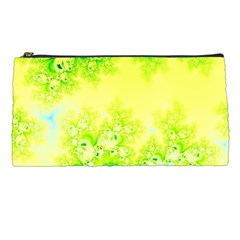 Sunny Spring Frost Fractal Pencil Case by Artist4God
