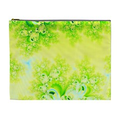 Sunny Spring Frost Fractal Cosmetic Bag (xl) by Artist4God