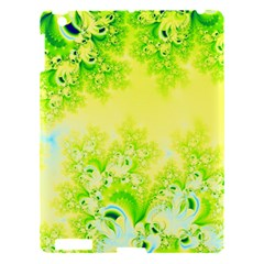 Sunny Spring Frost Fractal Apple Ipad 3/4 Hardshell Case by Artist4God