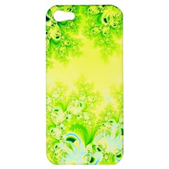 Sunny Spring Frost Fractal Apple Iphone 5 Hardshell Case by Artist4God