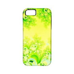 Sunny Spring Frost Fractal Apple Iphone 5 Classic Hardshell Case (pc+silicone) by Artist4God