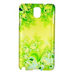 Sunny Spring Frost Fractal Samsung Galaxy Note 3 N9005 Hardshell Case by Artist4God