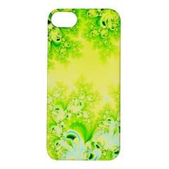 Sunny Spring Frost Fractal Apple Iphone 5s Hardshell Case by Artist4God