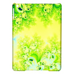 Sunny Spring Frost Fractal Apple Ipad Air Hardshell Case by Artist4God