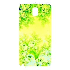 Sunny Spring Frost Fractal Samsung Galaxy Note 3 N9005 Hardshell Back Case by Artist4God