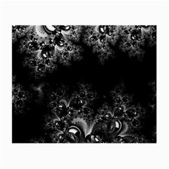 Midnight Frost Fractal Glasses Cloth (small) by Artist4God