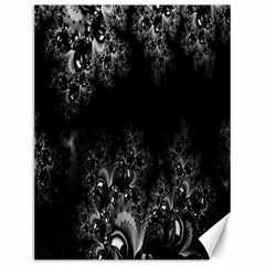 Midnight Frost Fractal Canvas 12  X 16  (unframed) by Artist4God