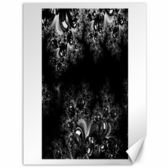 Midnight Frost Fractal Canvas 36  x 48  (Unframed) by Artist4God