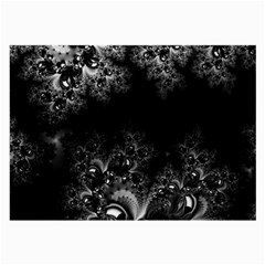 Midnight Frost Fractal Glasses Cloth (large) by Artist4God