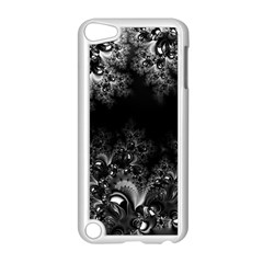 Midnight Frost Fractal Apple Ipod Touch 5 Case (white) by Artist4God