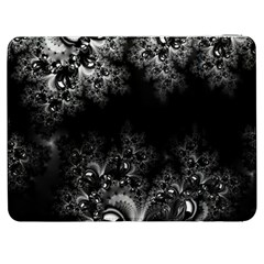 Midnight Frost Fractal Samsung Galaxy Tab 7  P1000 Flip Case by Artist4God