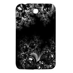 Midnight Frost Fractal Samsung Galaxy Tab 3 (7 ) P3200 Hardshell Case  by Artist4God