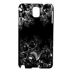 Midnight Frost Fractal Samsung Galaxy Note 3 N9005 Hardshell Case by Artist4God