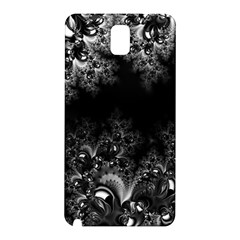 Midnight Frost Fractal Samsung Galaxy Note 3 N9005 Hardshell Back Case by Artist4God