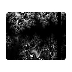Midnight Frost Fractal Samsung Galaxy Tab Pro 8 4  Flip Case by Artist4God