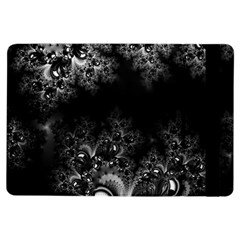 Midnight Frost Fractal Apple Ipad Air Flip Case by Artist4God