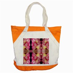 Pink Gladiolus Flowers Accent Tote Bag by Artist4God